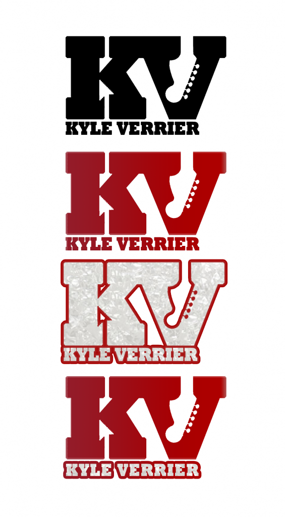 Kyle Verrier Personal Logo by Max Brawer